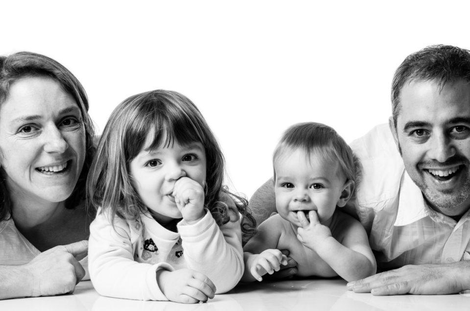 Un portrait de famille… de la famille qui grandit !